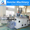 Plastic Conical Twin Screw PVC Pipe Extruder / PVC Profile Extruder / Plastic Extruder