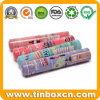 Metal Tin Pencil Box for Pen Holder Stationery Case Packaging