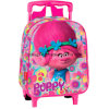 Trolls Poppy Flowers 3D Trolley Kids Bag