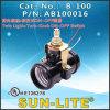 E26 Twin Light + Turn - Knob Switch Phenolic Lampholder B-100