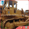 Shanghai Available-Ripper/Blade 3~5cbm Yellow-Coat Crawler Used Caterpillar D8k Tractor-Scraper Bulldozer