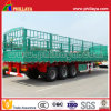 3axles 50-60ton Semi Cargo Trailer for Cattles