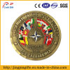 Gold Plated Souvenir Coin with Good Plating Technology