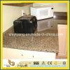 Tropical Brown Granite Kitchen Countertop with Backsplash
