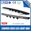 off Road Light Bar 200W Slim Curved LED Bar Waterproof