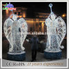 Christmas Decorations 3D Motif White Angle Sculpture Holiday Light