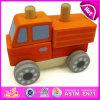 Wooden Assemble Car Toy for Kids, Top Sale Changable Car Wooden Creative Toys DIY Car W04A182
