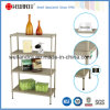Hot Sale 4 Tiers Powder Coating Perforated Metal Shelf (CJ-B1217)