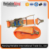"2"" Cargo Lashing Ratchet Tie Down Strap"