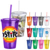 Multi-Color Promotional Plastic Cups