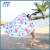 Summer Beach Towels Floral Printed Round Blanket Yoga Mat Home