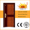 Single Leaf Safety Entrance Main Iron Door From Suncity (SC-S133)