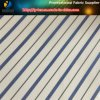 Blue Men Polyester Yarn Dyed Stripe Plain Lining Textile Fabric (S101.118)