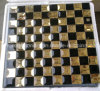 Black Mix Gold Tile Mirror Glass Mosaic (HD093)