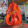 Motor Hydraulic Orange Peel Grab Bucket for Rock Steel Scrap on The Vessel