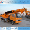 T-King Truck Mobile Hydraulic Boom Crane with Drill in Dubai