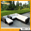 New Style Handmade Outdoor Garden Patio Furniture Sitting Room Rattan Corner Sofa