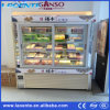 Ce Certification Two Side Glass Door Display Cooler