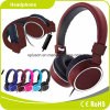 Customized Logo Free Sample Wired Headphone