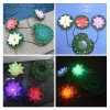 Garden Pool Floating Lotus Solar Night Flower Lamp