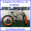 Folding Electric Mountain Bicycle Fat with Shimano Gears