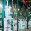 Automatic PLC Control 50t/24h Wheat Flour Milling Machine