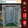 UPVC Hurricane Impact Glass Casement Door, Entry Colonial Bar Glass Doors