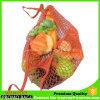 Overstriking Cotton Nylon Mesh Packing Ball Pocket Dilly Bag