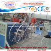PE Single Wall Corrugated Pipe Production Line with Punching Spiral