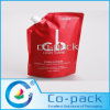 Stand up Plastic Shampoo Packing Bag with Spout