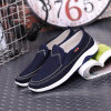 Spring New Old Beijing Men′s Cloth Shoes Low Flat Korean Fashion Casual Shoes Deodorant Tide Men′s Shoes