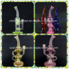 Mothership Style Colorful Glass Smoking Water Pipe