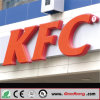 Waterproof Outdoor Advertising Acrylic Signage for Chain Store