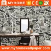Character Modern Design Wallpaper Wallcovering for Living Room Walls