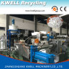 EVA/ABS/PP Waste Plastic Recycling Granulator/Force Feeder Plastic Recycling Extruder