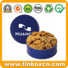 Food Packaging Metal Can Round Chocolate Cream Biscuit Tin Boxes