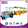 Kids Amusement Park Rides Electric Tracklesss Train for Outdoor Games