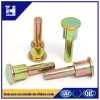 Colored Zinc Flat Head Step Rivet with Chamfer