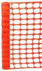 Orange Traffic Safety Net Barrier