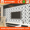 Black and White PVC Project Wall Covering