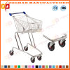 High Quality Metal Supermarket Shopping Carts Trolley (ZHt275)