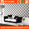 Black and White Wall Paper with Modern Design