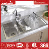Handmade Drain Board Kitchen Sink, Stainless Steel Sink, Sink, Handmade Sink