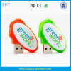 New Egg Shape USB Plastic Swivel USB Flash Drives ((ED605)