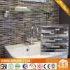 Wholesale, Marble Stone and Convex Glass Mosaic (M855072)