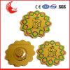 Factory Direct Sale Debossed Process Metal Logo Badge