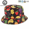 New Fashion Colorful Fruits Banana Strawberry Grape Bucket Hat