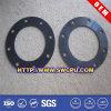 Customized Rubber Flat Slotting Round Seal Gasket (SWCPU-R-G894)
