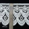 14.6cm Thick Scalloped Eyelash Lace Trim for Wedding Gown or Shirt Accessories Hml045
