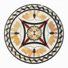 Natural Marble/Granite Waterjet Medallion for Hotel Hall